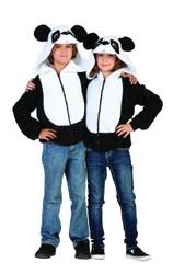 PANDA HOODIE girls boys animal sweatshirt halloween costume SMALL