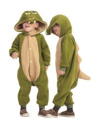 DINOSAUR dragon pajamas onesie animal jumpsuit toddler fleece costume 3T 4T