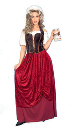 TAVERN WENCH renaissance beer garden german womens halloween costume