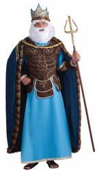 KING NEPTUNE sea god ariel merman greek atlantis merman halloween costume
