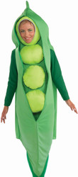 PEA POD tunic green vegetable soup adult funny food halloween costume