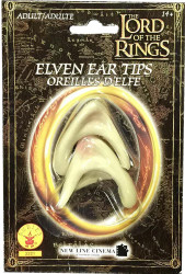 Adult Elven Ear Tips Lord of the Rings Costume Accessory Prothstetic