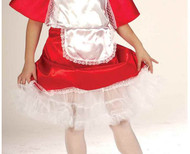 WHITE PETTICOAT girls kids crinoline skirt undergarment halloween costume