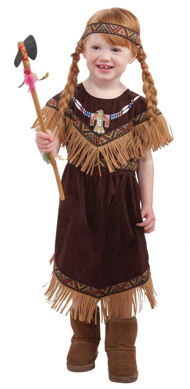 native american princess toddler girls indian pocahontas halloween costume 2t 3t - Halloween Native American
