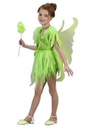Neverland Fairy Girls Tinkerbell Costume