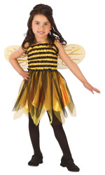 Bumblebee Toddler Dress Costume