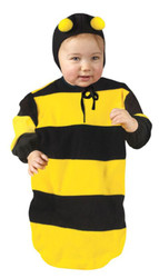 BUMBLEBEE bunting infant baby kids halloween costume 9M