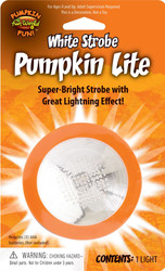 Pumpkin Light Strobe Effect Decoration halloween decor blinking prop