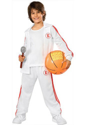 TROY BASKETBALL HIGH SCHOOL MUSICAL suit boys costume S