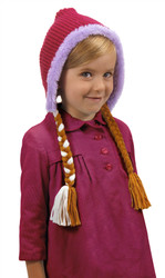 Anna Hoodie Hat Frozen Disney Princess Costume Accessory