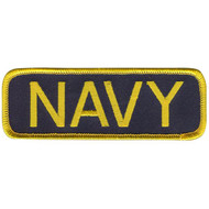 US NAVY bar PATCH embroidered iron on  military USA boys mens costume