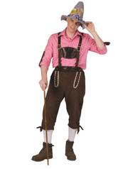 Alps Away Pants Oktoberfest Costume Mens Medium