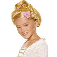 CINDERELLA PRINCESS WIG beauty queen updo bun girls child halloween costume