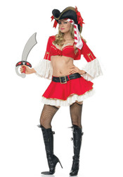 Pirate Captain Sexy Women's Costume
