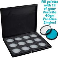 Mehron Paradise Makeup AQ - Empty Palette Hold 12 Colors