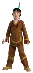 Brown Native American Indian Boy Non Native Costume