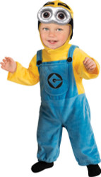 DESPICABLE ME MINION costume toddler 2T-4T