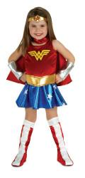 WONDER WOMAN superhero comic character halloween girls costume toddler 1-2 yrs