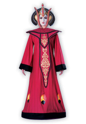 Deluxe QUEEN AMIDALA Star Wars adult womens halloween costume LARGE