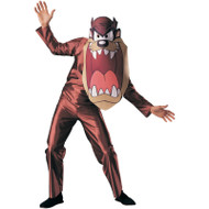 TAZ looney tunes cartoon tasmanian devil adult mens womens halloween costume