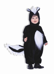 Plush Skunk Kids/Toddler Costume
