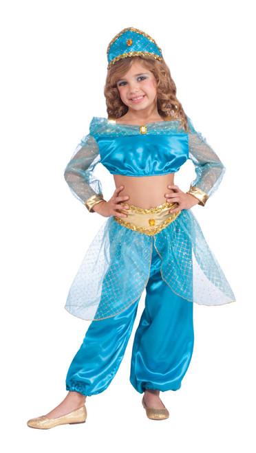 Girls Arabian Princess Jasmine Costume  sc 1 st  CostumeVille & Girls Arabian Princess Jasmine Costume - CostumeVille