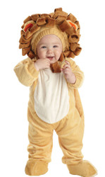 Lion Cub Toddler Jumpsuit Safari Costume