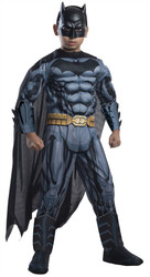Deluxe Batman Padded Muscle Chest Costume Kids