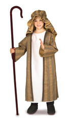 Christmas Boys Kids Shepherd Three Wise Men Halloween Costume - Child