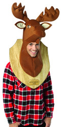 Moose Head Trophy Mens Costume One Size