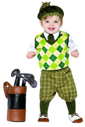 GOLFER GOLF toddler boys cute halloween costume 18M 24M