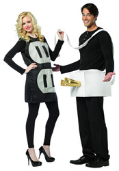 Plug and Socket Couples SET Funny Halloween Lightweight Costume Light Weight
