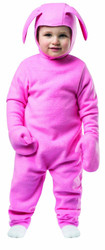 PINK BUNNY SUIT kids pjs Christmas Story ralphie halloween costume child 3T-4T