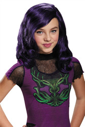 Mal Descendants Wig  girls costume accessory