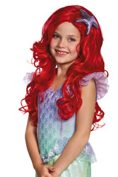 Ariel Ultra Prestige Child Wig Disney princess The Little Mermaid kids girls costume accessory