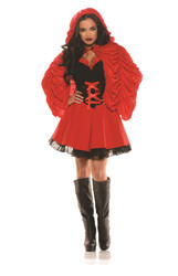 Little Red Riding Hood Storybook Adult Womens Halloween Costume