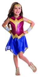 Batman v. Superman Dawn of Justice Girls Kids Wonder Woman Costume