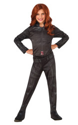 Captain America Civil War Black Widow girls kids costume
