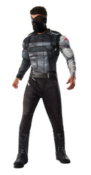 Captain America Civil War Deluxe Muscle Chest Winter Soldier Bucky adult mens costume