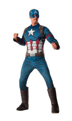 Captain America Civil War Deluxe Muscle Chest adult mens Captain America costume