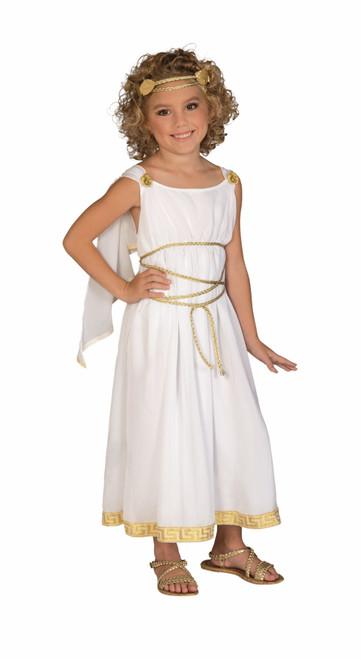 grecian greek goddess kids girls halloween costume