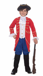 Founding Father George Washington kids boys Halloween costume