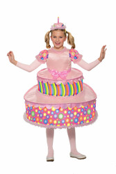 Birthday Cake kids girls Halloween costume
