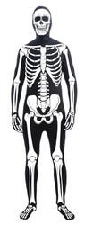 Disappearing Man Bone Suit Skeleton adult mens Halloween costume