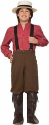 Pioneer Boy prairie kids boys Halloween Historical cotume