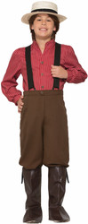 Pioneer Boy prairie kids boys Halloween Historical cotume