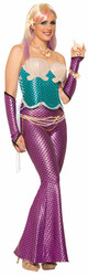 Mermaid adult womens sleeves sleevelets Halloween costume accessory