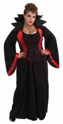 Vampiress adult womens Halloween costume plus