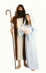 Jesus pageant adult mens Christmas costume Std Size