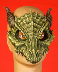 Dragon half mask adult mens Halloween costume
